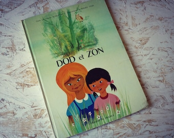 "Children's book - ""Dod and Zon"" - vintage 1965 illustrated filettes stories"