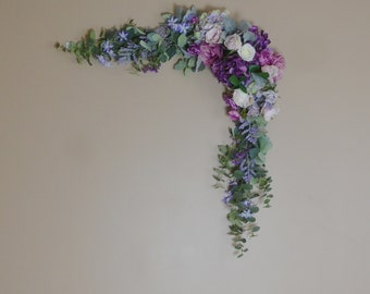 Eucalyptus Garland, Wedding Garland, Backdrop, Boho, Wedding, Wedding Decor, Silk Flower Backdrop, Wedding Backdrop, Wedding Arch Flowers