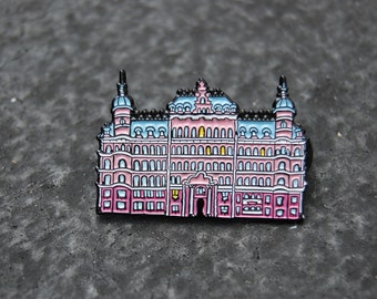 Limited Edition Wes Anderson inspired Grand Budapest Hotel Soft Enamel Pin
