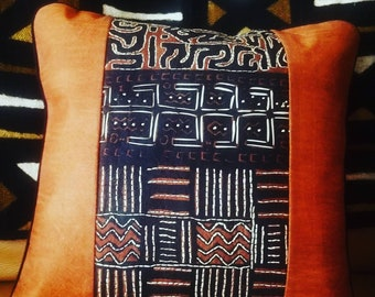 Authentic Bark cloth throw cushion cover made in Uganda