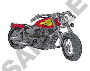 Roadster Cycle - Machine Embroidery Design