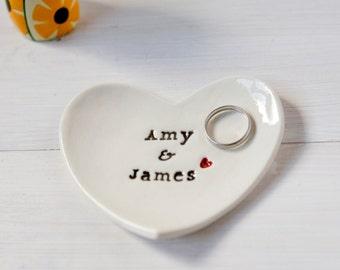 Wedding ring dish Etsy