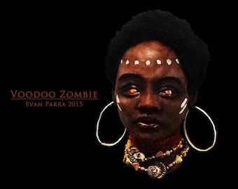 VOODOO ZOMBIE - Professional Latex Display Prop