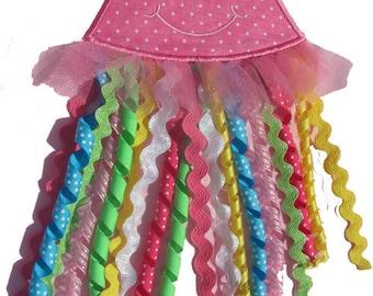 Jellyfish Applique Design 171