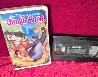 Disney The Jungle Book Black Diamond Classic RARE VHS