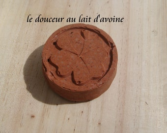 Natural solid shampoo, very fine child's hair, the DOUCEUR milk, 45,65gr