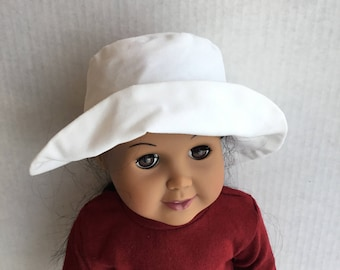 "Hat for 18"" dolls such as American girl"