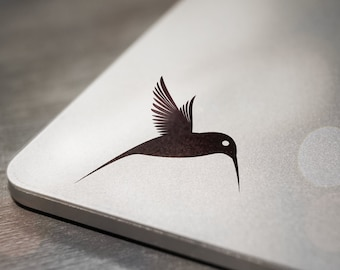 Hummingbird Laptop Decal Sticker