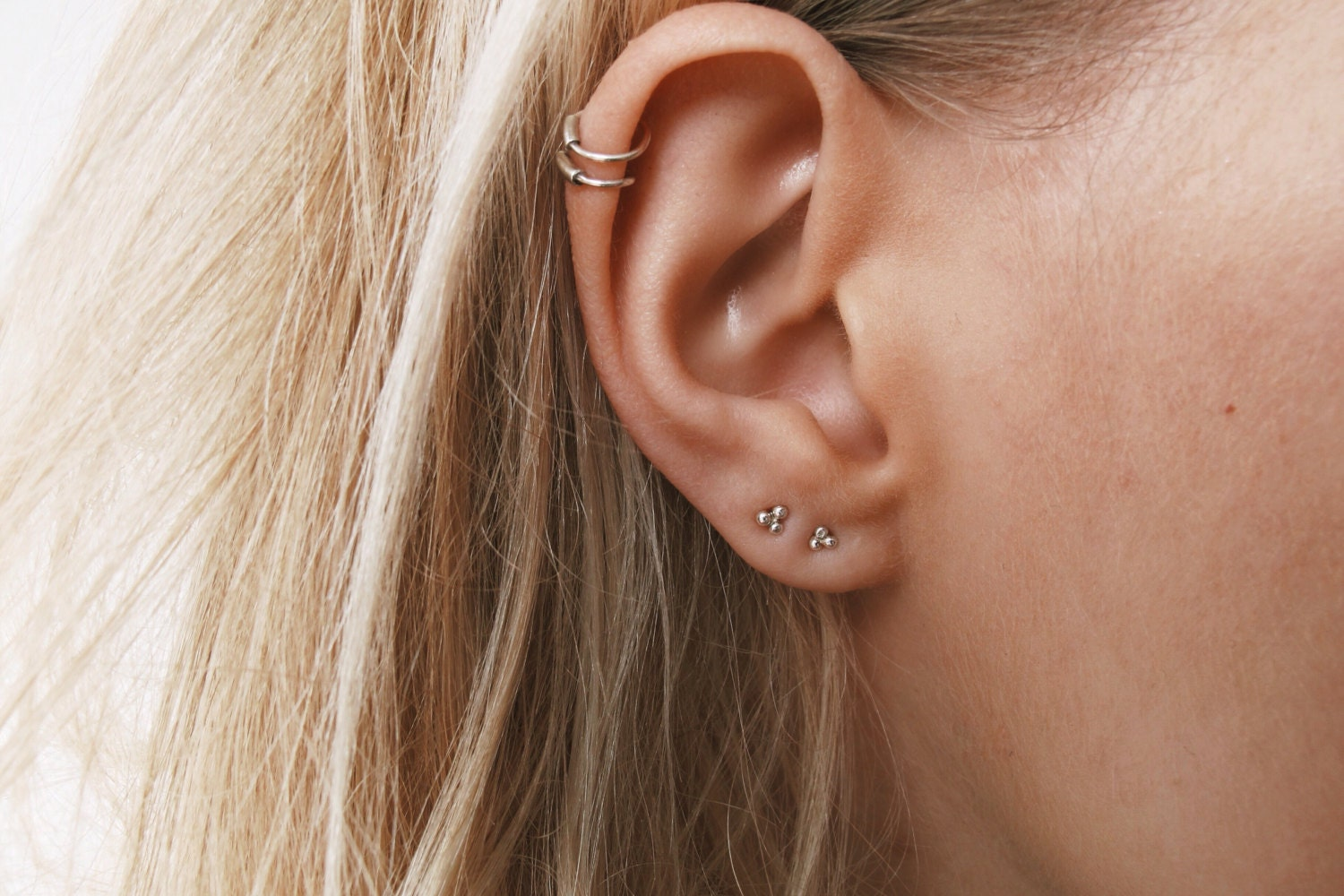 estore bow stud delicate earrings en pandora uk