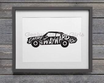 Impala Poster Wayward son