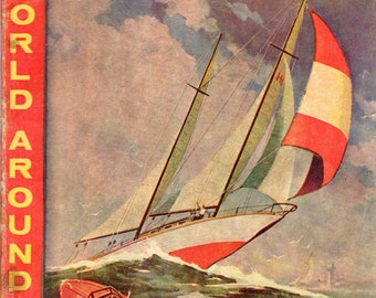 Classics Illustrated The World Around Us #22: The Illustrated Story of Boating