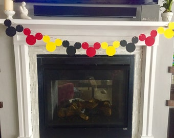 Mickey Mouse GARLAND Only