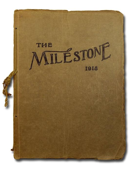 Norfolk High School Yearbook (Annual) 1918 - The Milestone - Madison County - NE Nebraska