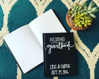 Custom Chalkboard Style Guestbook