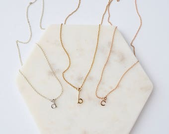 Monogram Necklace // Initial Necklace // Monogram Jewellery // Letter Necklace