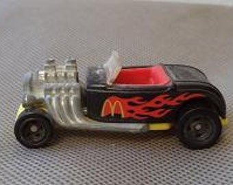 Hot Wheels,  McDonald's Hot Wheels, 1993 Hot wheels,  Ford roadster , Mc'Donald  toy car ,Die cast toy car