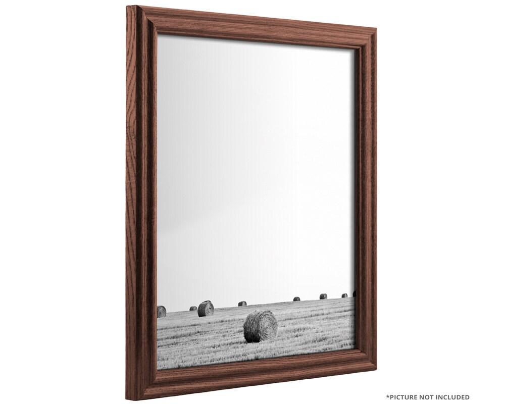 Craig Frames, 12x18 Inch Dark Walnut Brown Solid Wood Picture Frame ...
