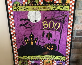 Boo Halloween Wallhanging