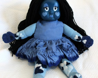 Bonnie Blueheart Doll (Susie Moppet EXTREME makeover)