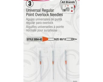 Singer Universal Regular Point Machine Needles for Woven Fabric RJ2-4-SN