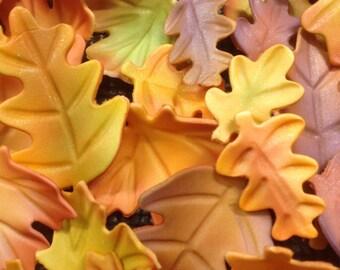Gumpaste Fall Leaves