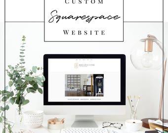 Custom Squarespace Website Design   Photography, Wedding, Blog, Portfolio Web Design   Custom Website Design