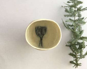 Hand built Porcelain tea cup