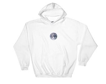 Simple minimalist earth hoodie
