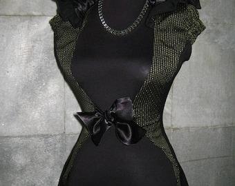Elegant and stylishly unusual, lady's body.