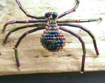 Native American Indian Jewelry, Navajo Spider Beaded Jewelry,American Indian Beaded Jewelry, Southwest Beaded Spider Designs.