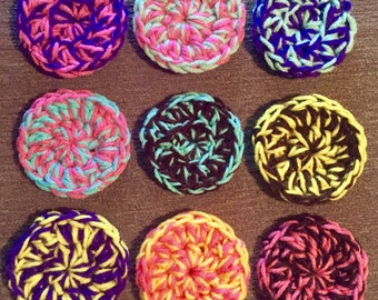 Lot of 6 Face Scrubbies,