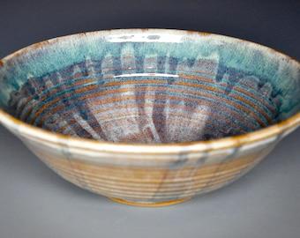 Ceramic Salad Bowl Pottery Serving Pasta Bowl A