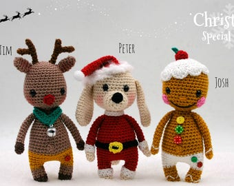 Crochet pattern: Christmas Special Pack