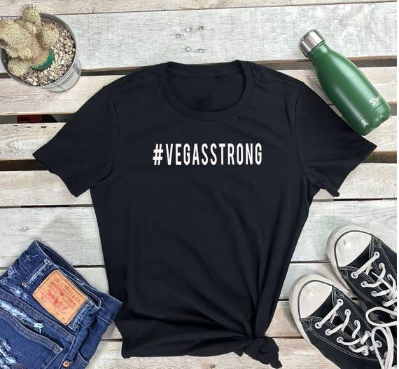 VEGAS STRONG Women's Short Sleeve Crewneck T Shirt , Hip Hop Tee Pray for Las Vegas, #vegasstrong Shirt,