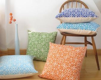 Moroccan Tile Square Pillow