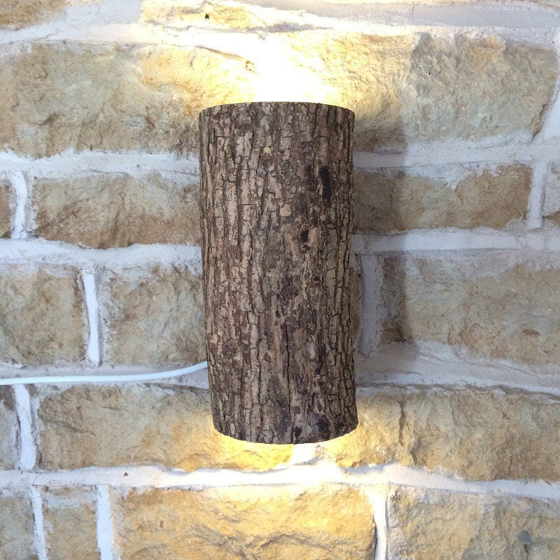 Rustic wall light rustic wall sconce log light log lamp rustic rustic wall light rustic wall sconce log light log lamp rustic lamp woodland lighting natural light cottage light wood wall light aloadofball Image collections