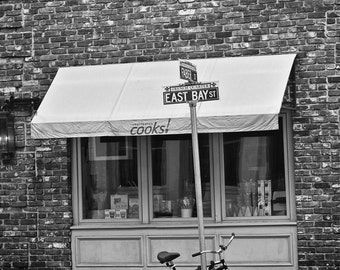 Bike on Eastbay St. Charleston Photography  SC 8x10 photos, Color and B&W Fine Art Photography, South Carolina Photos, wall art,