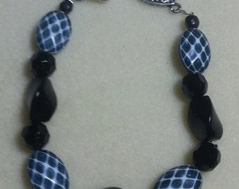 Black Chunky Bracelet Fun