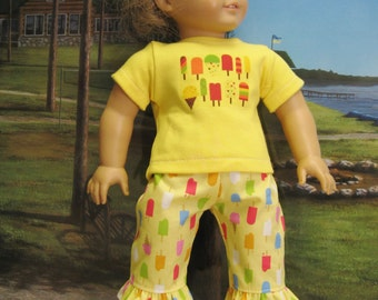 Popsicle Beachwalker Outfit for American Girl Doll