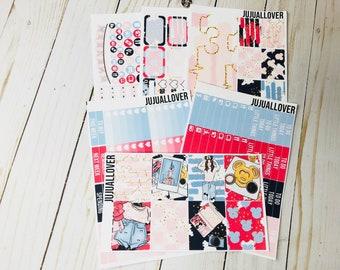 CASTLE Planner Stickers l Vertical Stickers l Full Kit l Full Weekly Kit l Planner Kit l Summer Weekly Kit l Summer Stickers