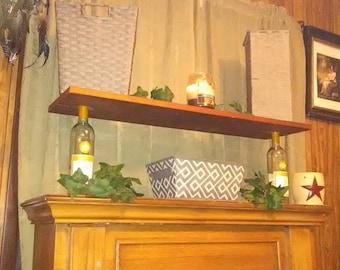 Wine Rack- Space saving shelf.