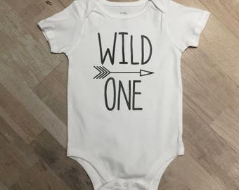 Wild ONE Or Baby Bear Top