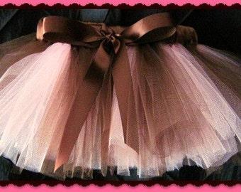 Tutu skirt set custom orders welcome Tutu ribbon wrapped bow