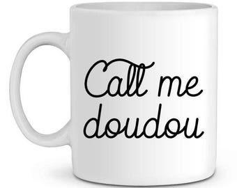 Mug ceramic call me blanket