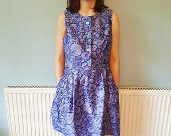 Casual dress, Denim, Denim Dress, Jean Dress, Sleeveless dress, Summer dress, Shirt, Button down dress, Blue dress, Dress, Party dress