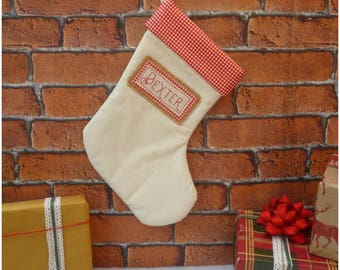 Christmas Stocking Personalised Family Christmas Stockings, Christmas Stocking Name Christmas Stocking Personalised Christmas Stocking