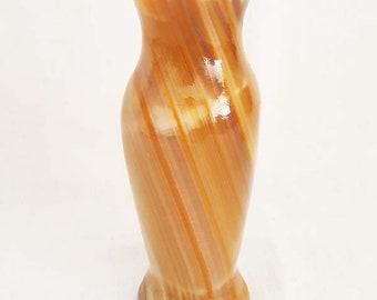 Onyx Stone Single Candle Holder