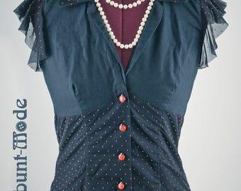 Ladybug lady bug blouse blouse