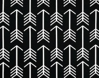 Premier Prints Arrow in Black - Fat Quarter
