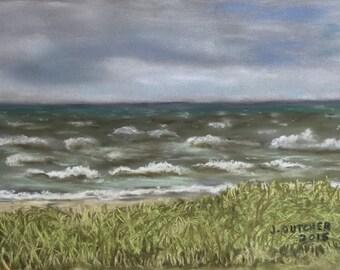 Windy Day (Framed) by Jon Dutcher